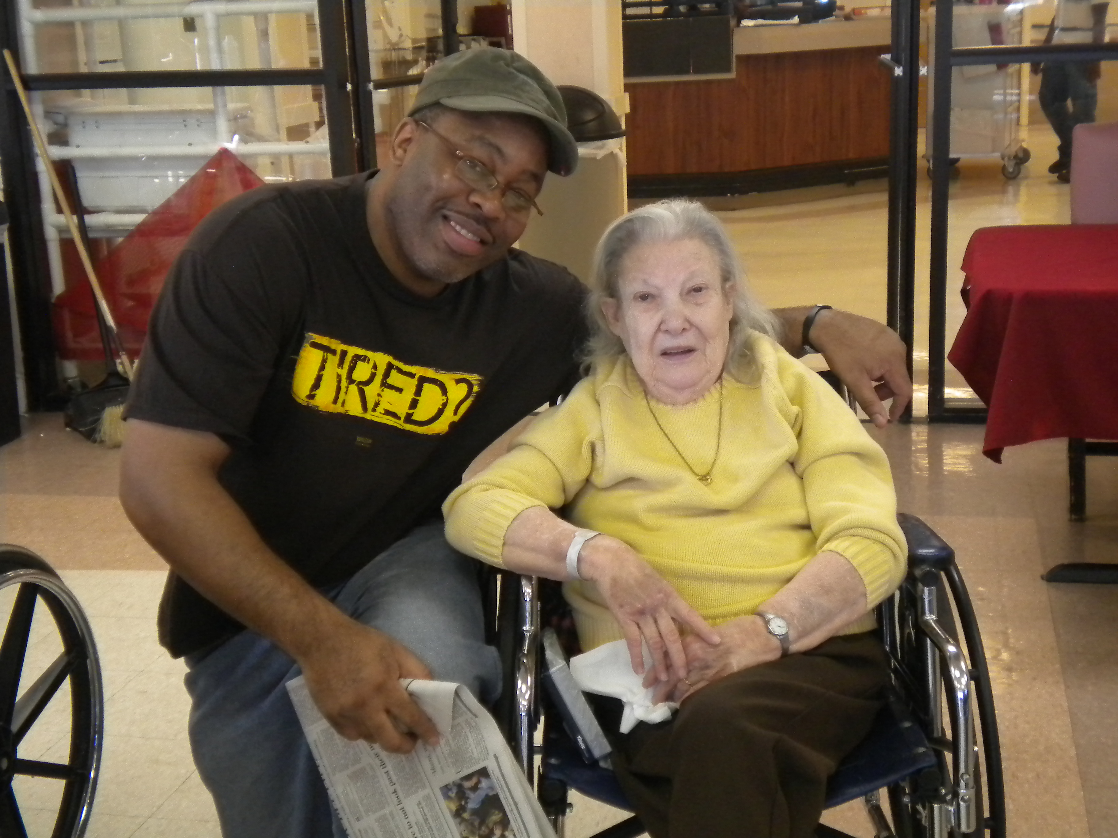 Hanging out with Ms. Trudy was a pure joy. She was funny.